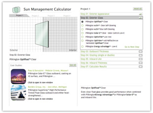 Use the Sun Management Calculator